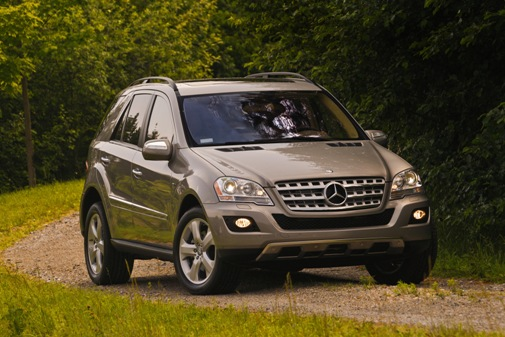 2009 Mercedes-Benz ML320. Photo by Greg Jarem